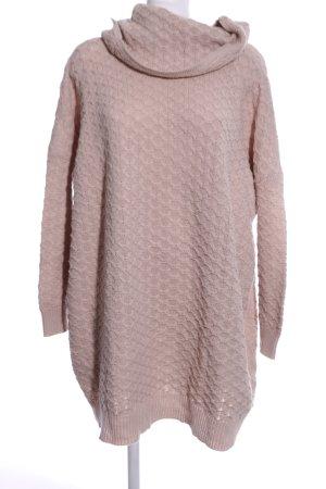 H&M Maglione dolcevita rosa stile casual