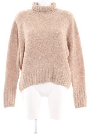 H&M Rollkragenpullover beige Casual-Look