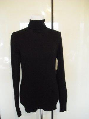 H&M Rollkragenpullover schwarz
