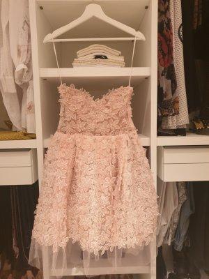 H&M Robe à corsage rosé polyamide