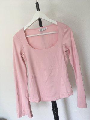 Hennes Collection by H&M Boothalsshirt lichtroze-roze Gemengd weefsel