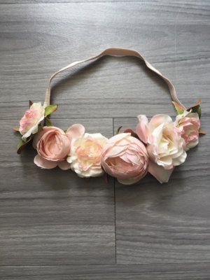 H&M Rosen-Band Haarschmuck rosa
