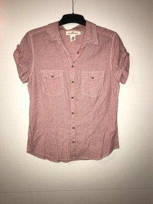 H&M rot, weiß gestreifte Bluse in Gr. 40