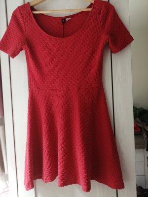 H&m Rotes Kleid