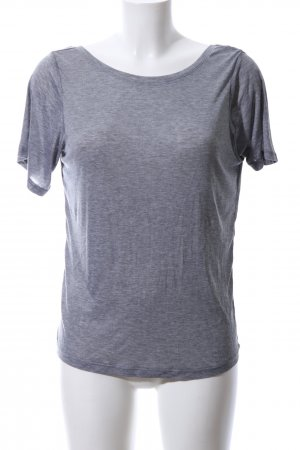 H&M Backless Top light grey flecked casual look