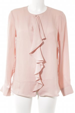 H&M Ruffled Blouse pink casual look