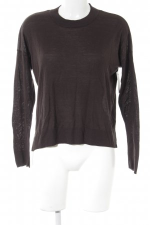 H&M Crewneck Sweater dark grey casual look