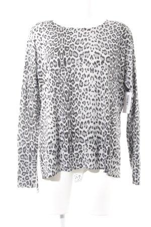 H&M Pull ras du cou motif léopard style décontracté