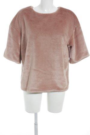 H&M Rundhalspullover rosa extravaganter Stil