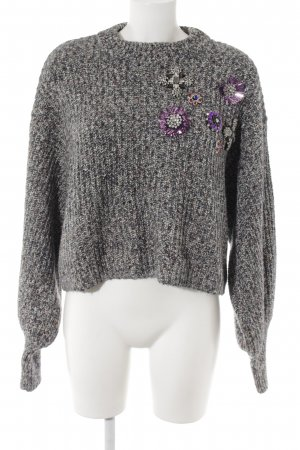 H&M Rundhalspullover Webmuster Casual-Look