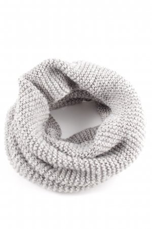 H&M Snood light grey cable stitch casual look
