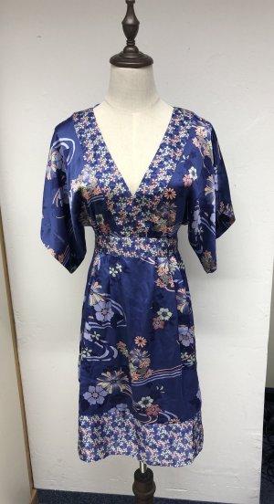 H&M Vestido tipo túnica lila