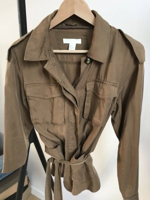 H&M Safari Jacket Blazer mit Gürtel NEU