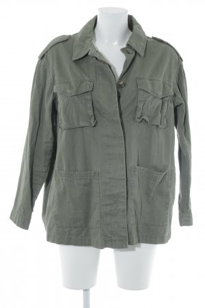 H&M Safarijacke khaki Casual-Look