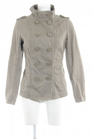 H&M Safari Jacket ocher-khaki biker look