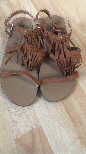 H&M Roman Sandals multicolored