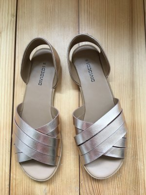H&M Divided Strapped Sandals rose-gold-coloured