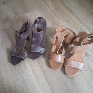 H&M High Heel Sandal light brown-brown