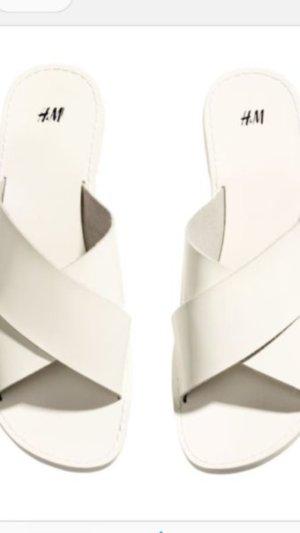 H&M Sandalen Neu Leder