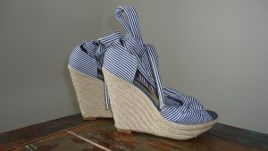 H&M Sandals white-blue