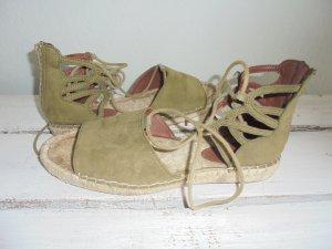 H&M  Sandalette Khaki Gr.39
