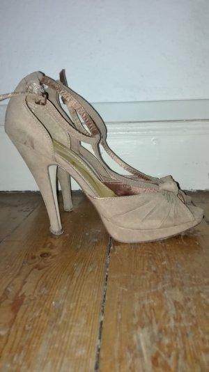 H&M #sandalette #peeptoe #stiletto Gr.39
