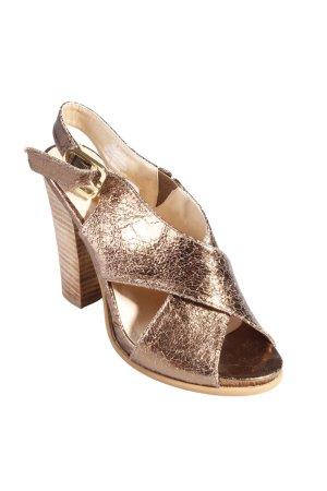 H & M Sandals bronze