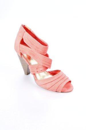 H&M Sandaletten lachs extravaganter Stil