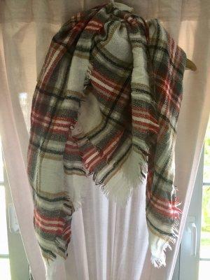 H&M Bufanda de lana multicolor
