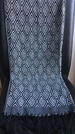 H&M Sjaal zwart-wit