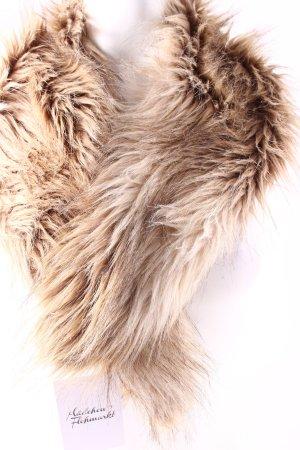 H&M Schal schwarz-hellbraun extravaganter Stil