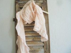 H&M Fazzoletto da collo salmone-rosa pallido Cotone