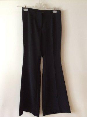 H&M Pantalon pattes d'éléphant noir