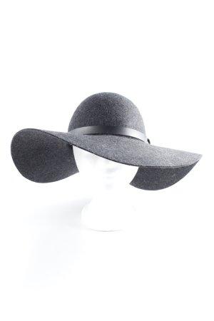 H&M Chapeau à larges bords gris style des années 20