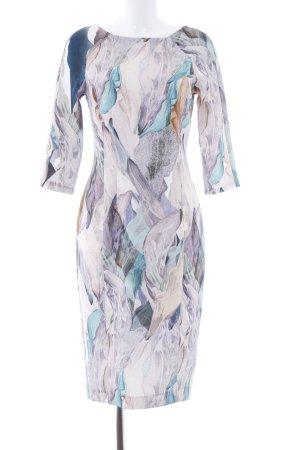 H&M Vestido de tubo estampado floral elegante