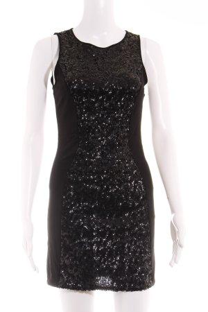 H&M Vestido de tubo negro estilo fiesta