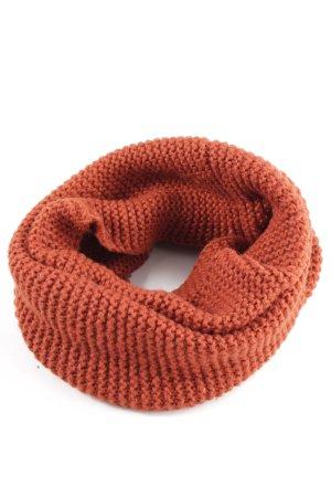 H&M Écharpe tube orange clair style décontracté