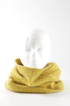H&M Schlauchschal blassgelb Casual-Look