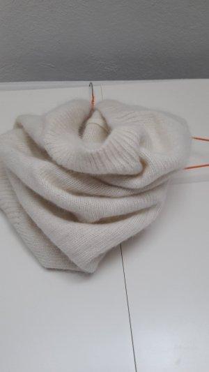 H&M Bufanda tubo blanco puro