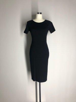 H&M schlichtes Etuikleid, schwarz