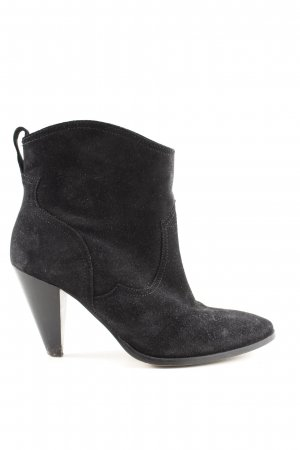 H&M Slip-on Booties black business style