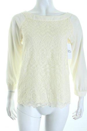 H&M Schlupf-Bluse creme Romantik-Look