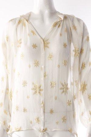 H&M Schlupfbluse Sternenmuster