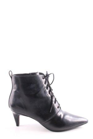 H&M Stivaletto stringato nero stile professionale