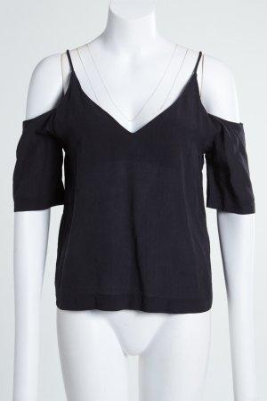 H&M schöne Bluse mit V-Auschnitt 100% Lyocell