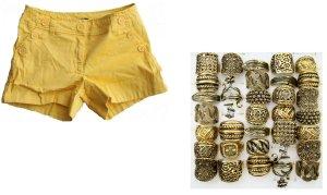 H&M - Schöne Shorts Gr. 36 & Mode - Ring
