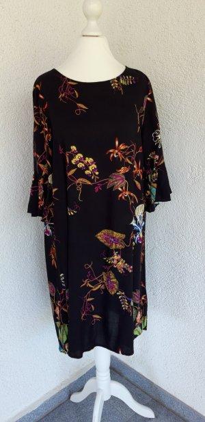 H&M schönes Sommerkleid schwarz/bunt Gr.S top