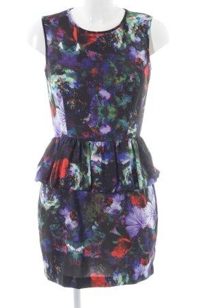 H&M Schößchenkleid Blumenmuster Elegant