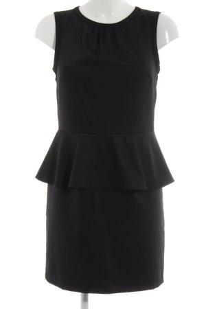 H&M Peplum Dress black elegant