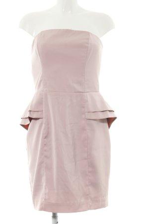 H&M Schößchenkleid pink Party-Look